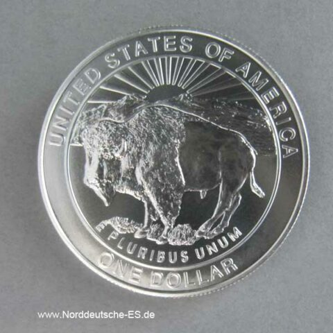 1 Dollar 1999 Yellowstone