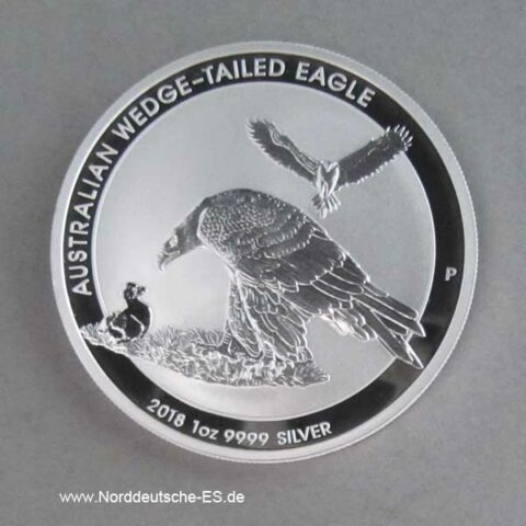 Australien 1 oz Wedge Tailed Eagle 2018