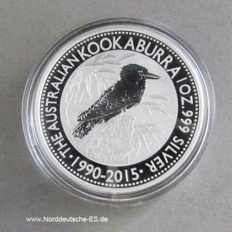 Kookaburra 1 OZ Sonderedition 1990-2015