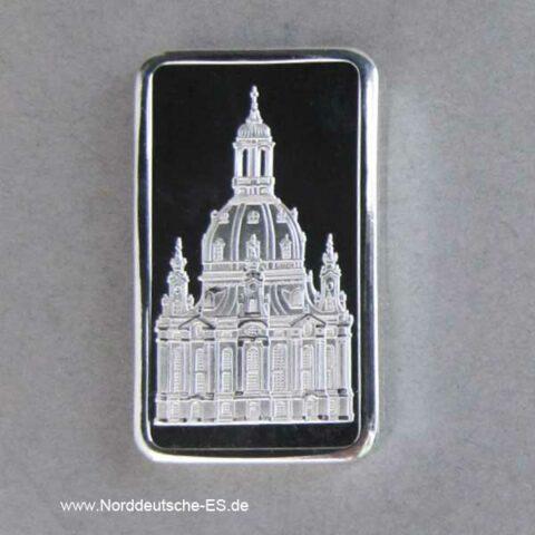 Silberbarren Wiederaufbau Frauenkirche Dresden Kuppel Silberbarren