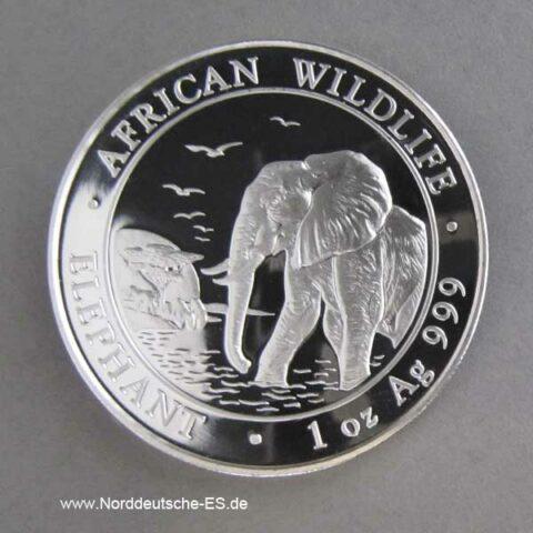 Somalia Elephant 1 oz 2010