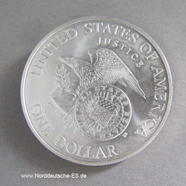 USA 1 Dollar 1998 Silbermünze Robert F. Kennedy