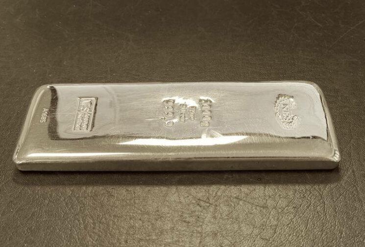 1-Kg-Silberbarren-9999-Norddeutsche
