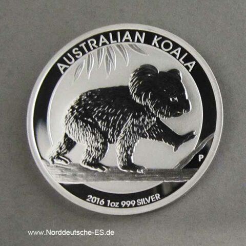 1 oz Koala Silbermünze 2016