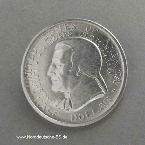 1936 Cleveland Half Dollar Silber