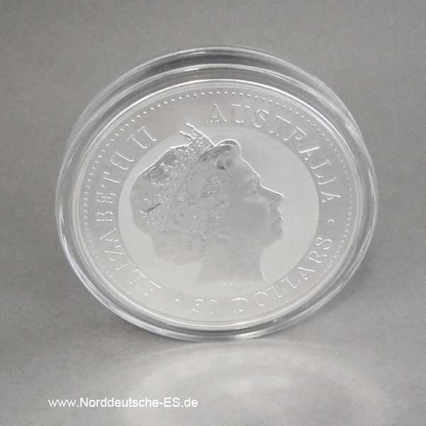 Australien Lunar I Schwein 1 Kilo Silber 2007 Year of the Pig