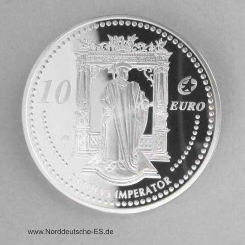 Spanien 10 Euro Silber Carolus 2006