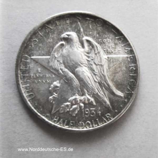 USA Texas Centennial Half Dollar 1934 Silber Commemorative History