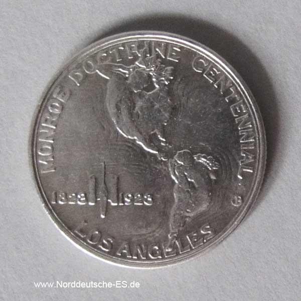 1923 Monroe Doctrine Half Dollar Silber
