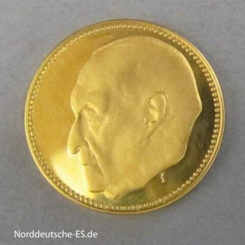 Goldmedaille Konrad Adenauer Securitas 1957