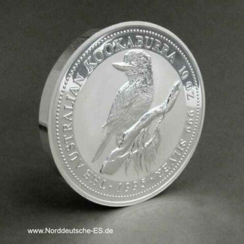 Kookaburra 10 oz Silber 1995
