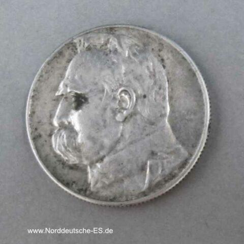 Polen II Republik 5 Zloty 1934