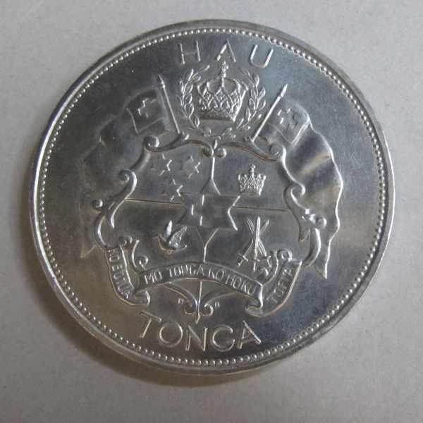 Tonga Palladium Münze 1 Hau 1967