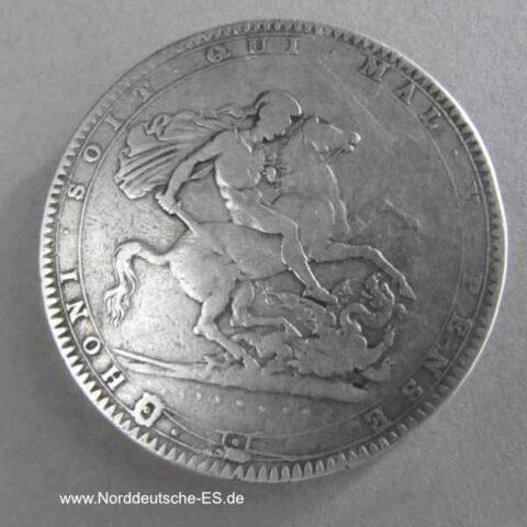 England 1 Krone Silber George III 1820