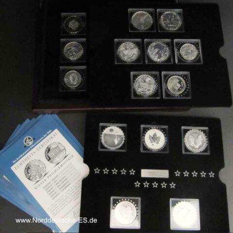 Collection Fabulous 15 Serie 2011 mit Zertifikat