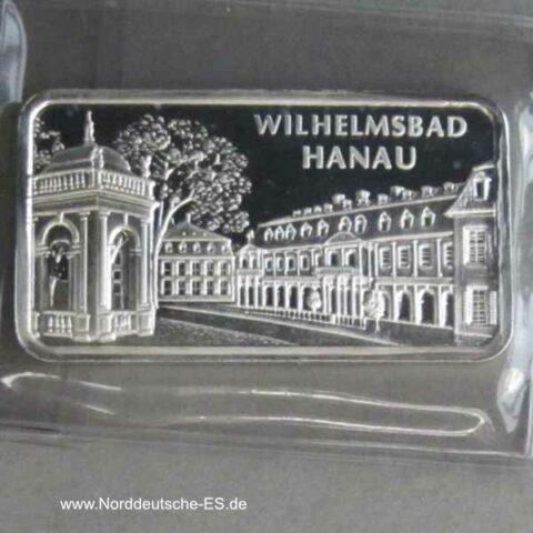 Silberbarren Heraeus Wilhelmsbad Hanau