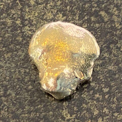 Goldnugget Geschürft in Deutschland Elbe