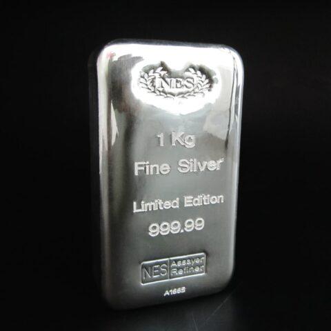1 Kg Feinsilber 999,99 Limited Edition Norddeutsche Edelmetall Scheideanstalt