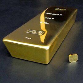 5Kg Goldbarren 999.9 NES