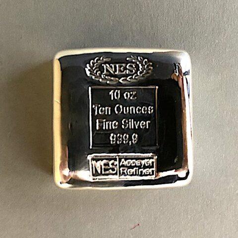 10Unzen Feinsilber 999,9 NES 3