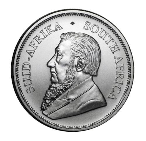 Kruegerrand 1 oz Silber 2021