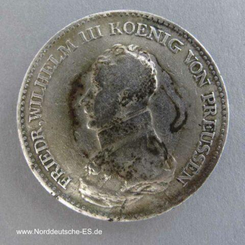 Preussen 1 Taler Friedrich Wilhelm III 1817 A