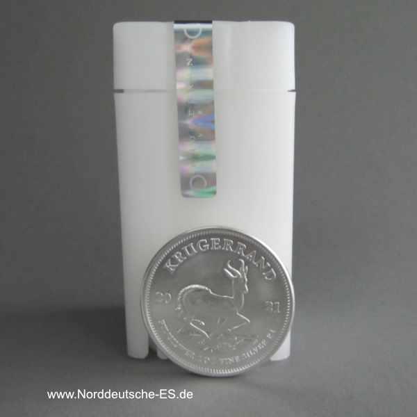 1 oz Silber Krügerrand Tube