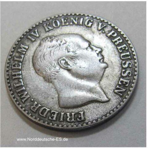 Preußen 2 ½ Silbergroschen 1854 A Friedrich Wilhelm IV