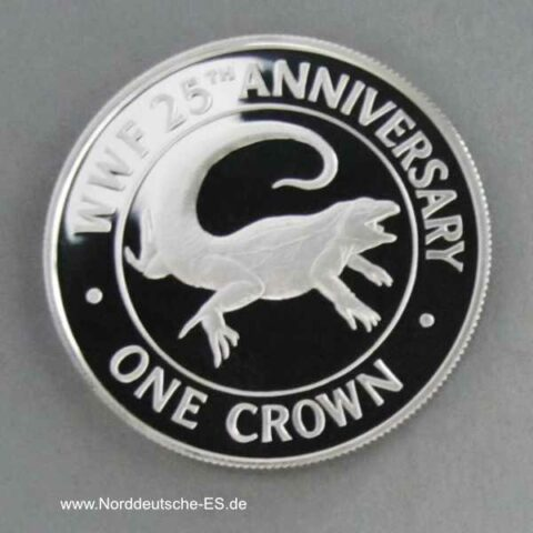 Turks and Caicos Islands 1 Crown 1988